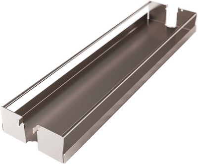 Hafele 545.09.800 Metal Tray Set for Base Pull-Out Ii, Set