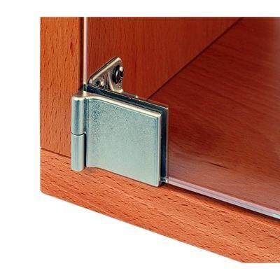 Richelieu Hin652126 Glass Cabinet Hinge Inset Snap Close